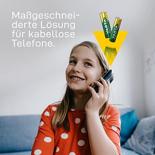 Varta Phone Accu AAA Micro Ni-Mh Akku  (2-er Pack, 800 mAh, geeignet für schnurlose Telefone) - 5