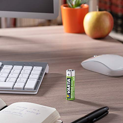 Varta Rechargeable Accu Ready2Use vorgeladener AAA Micro Ni-Mh Akku (4-er Pack, 800mAh), wiederaufladbar ohne Memory-Effekt – sofort einsatzbereit - 3