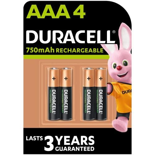 Duracell HR3-B Wiederaufladbare Batterie AAA 4 Pack