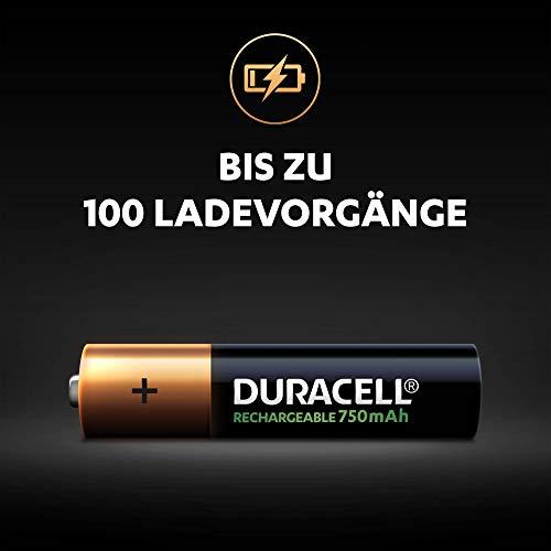 Duracell HR3-B Wiederaufladbare Batterie AAA 4 Pack - 2