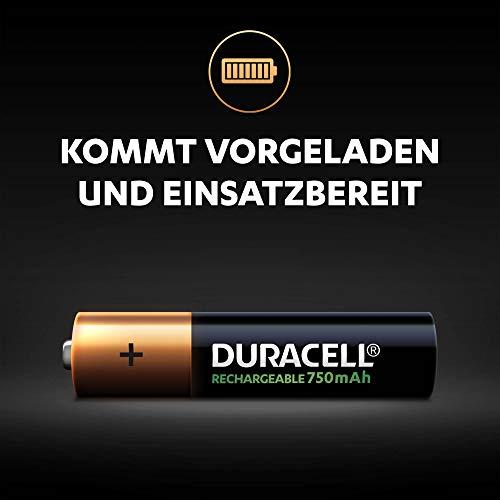 Duracell HR3-B Wiederaufladbare Batterie AAA 4 Pack - 3
