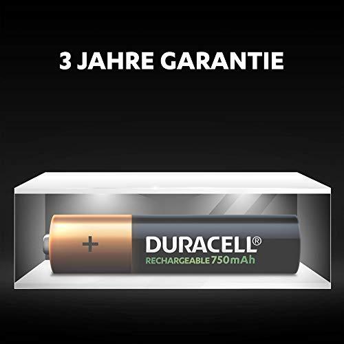 Duracell HR3-B Wiederaufladbare Batterie AAA 4 Pack - 6