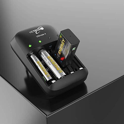 Heitech NiMH-Akku vorgeladen HR03/Micro/AAA, 800 mAh, 1,2 V, Wiederaufladbar, 04002190 - 5