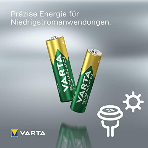 Varta Solar wiederaufladbarer Micro Ni-Mh Akku (AAA, 550mAh, 2-er Pack) - 4